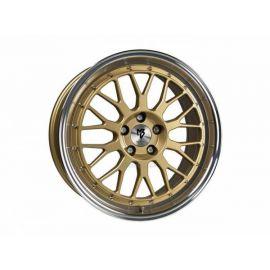 MB Design LV1 Gold shiny polished Wheel 8.5x19 - 19 inch 5x115 bolt circle - 6491