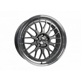 MB Design LV1 grey polished Wheel 7,5x18 - 18 inch 4x100 bolt circle - 6258