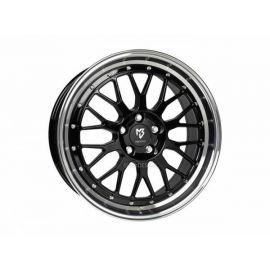 MB Design LV1 black shiney polished Wheel 7,5x18 - 18 inch 4x108 bolt circle - 6279