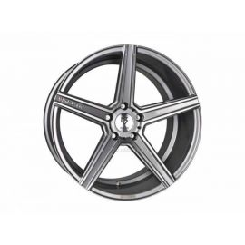 MB Design KV1 grey shiny polished Wheel 9.5x19 - 19 inch 5x120,65 bolt circle - 6526