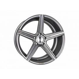 MB Design KV1 grey shiny polished Wheel 12x20 - 20 inch 5x120,65 bolt circle - 6697
