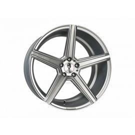 MB Design KV1 silver Wheel 9.5x19 - 19 inch 5x120 65 bolt circle