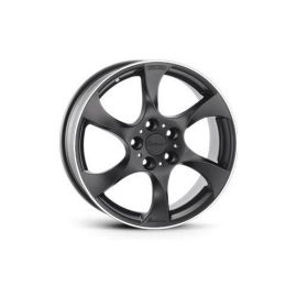 Lorinser MS black, polished edge Wheel 7x17 - 5495