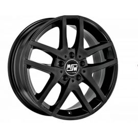 MSW 28 GLOSS BLACK Wheel 7x17 - 17 inch 5x112 bold circle - 7767