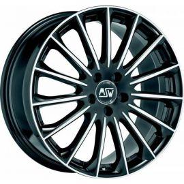 MSW 30 GLOSS BLACK F. POL. Wheel 7,5x18 - 18 inch 5x114,3 bold circle - 7953