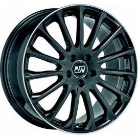 MSW 30 GLOSS BLACK DIAM.LIP Wheel 7,5x18 - 18 inch 5x114,3 bold circle - 7952