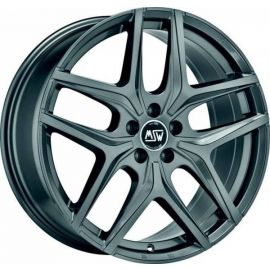 MSW 40 GLOSS GUN METAL Wheel 7x17 - 17 inch 5x112 bold circle - 7759