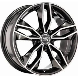 MSW 71 GLOSS DARK GREY FULL POLISHED Wheel 8,5x19 - 19 inch 5x114,3 bold circle - 8070