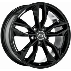 MSW 71 GLOSS BLACK Wheel 8x18 - 18 inch 5x110 bold circle - 7907