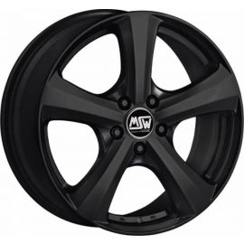 MSW 19 MATT BLACK Wheel 7x17 - 17 inch 5x114 3 bold circle