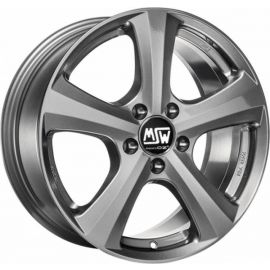 MSW 19 GREY SILVER Wheel 7x17 - 17 inch 5x114 3 bold circle