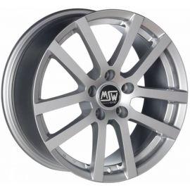 MSW 22 FULL SILVER Wheel 6x15 - 15 inch 4x108 bold circle - 7394