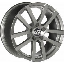 MSW 22 GREY SILVER Wheel 6 5x16 - 16 inch 5x115 bold circle