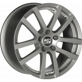 MSW 22 GREY SILVER Wheel 8x17 - 17 inch 5x114 3 bold circle