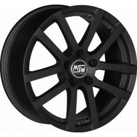 MSW 22 MATT BLACK Wheel 6 5x16 - 16 inch 5x114 3 bold circle