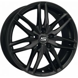 MSW 24 MATT BLACK Wheel 7,5x16 - 16 inch 5x100 bold circle - 7508