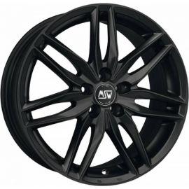 MSW 24 MATT BLACK Wheel 7x17 - 17 inch 4x100 bold circle - 7662