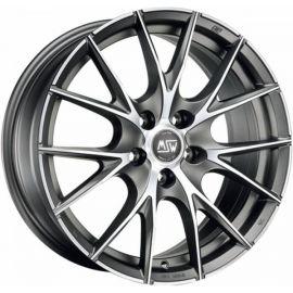 MSW 25 MATT TITANIUM POLIERT Wheel 8x18 - 18 inch 5x110 bold circle - 7912