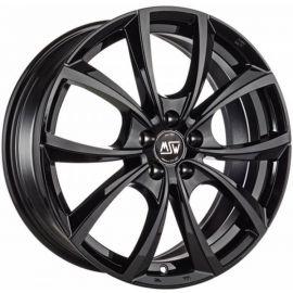 MSW 27 GLOSS BLACK Wheel 7,5x17 - 17 inch 5x100 bold circle - 7686