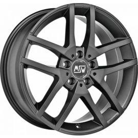 MSW 28 MATT DARK GREY Wheel 7x17 - 17 inch 5x100 bold circle - 7684