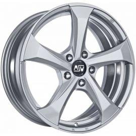 MSW 47 FULL SILVER Wheel 7,5x17 - 17 inch 5x105 bold circle - 7699