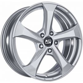 MSW 47 FULL SILVER Wheel 8x18 - 18 inch 5x105 bold circle - 7863