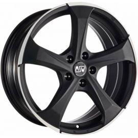 MSW 47 MATT DARK TITANIUM POLISHED Wheel 8x18 - 18 inch 5x115 bold circle - 7961