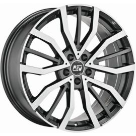 MSW 49 GLOSS GUN METAL POLIERT Wheel 8x18 - 18 inch 5x112 bold circle - 7932