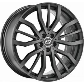 MSW 49 MATT GUN METAL Wheel 8x18 - 18 inch 5x112 bold circle - 7930