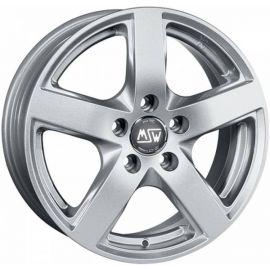 MSW 55 FULL SILVER Wheel 7,5x17 - 17 inch 5x108 bold circle - 7725