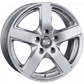 MSW 55 FULL SILVER Wheel 8,5x19 - 19 inch 5x112 bold circle - 8048