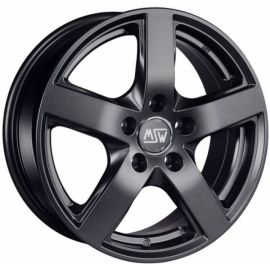 MSW 55 MATT DARK GREY Wheel 6,5x16 - 16 inch 5x112 bold circle - 7582