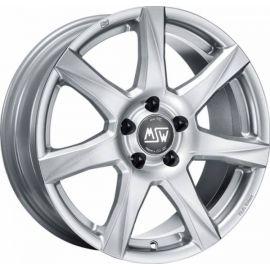 MSW 77 FULL SILVER Wheel 6x15 - 15 inch 5x114,3 bold circle - 7445