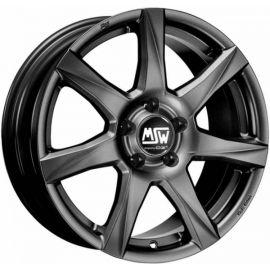 MSW 77 MATT DARK GREY Wheel 6x15 - 15 inch 4x100 bold circle - 7371