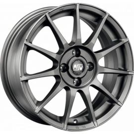 MSW 85 MATT GUN METAL Wheel 7x17 - 17 inch 4x108 bold circle - 7666