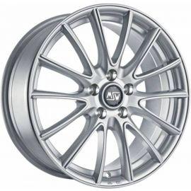 MSW 86 FULL SILVER Wheel 6x15 - 15 inch 4x100 bold circle - 7368