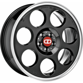 OZ ANNIVERSARY 45 BLACK DIAMOND LIP Wheel 7x17 - 17 inch 4x9 - 9960
