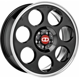 OZ ANNIVERSARY 45 BLACK DIAMOND LIP Wheel 7x17 - 17 inch 5x1 - 10037