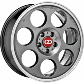 OZ ANNIVERSARY 45 MATT TITAN DIAMOND LIP Wheel 7x17 - 17 inc - 9957