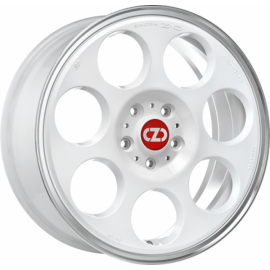 OZ ANNIVERSARY 45 RACE WHITE DIAMOND LIP Wheel 7x17 - 17 inc - 9958