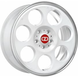 OZ ANNIVERSARY 45 RACE WHITE DIAMOND LIP Wheel 7x17 - 17 inc - 10050