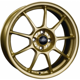 OZ ALLEGGERITA HLT RACE GOLD Wheel 7x16 - 16 inch 4x100 bold - 9868
