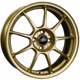 OZ ALLEGGERITA HLT RACE GOLD Wheel 8x17 - 17 inch 5x108 bold - 10034