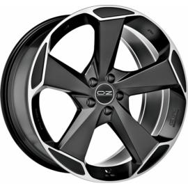 OZ ASPEN HLT MATT BLACK POLIERT Wheel 10x20 - 20 inch 5x120 - 10906