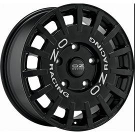 OZ RALLY RACING MATT BLACK+SIL.LETT. Wheel 7,5x18 - 18 inch - 10366