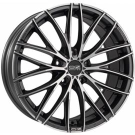 OZ ITALIA 150 MATT DARK GRAPHITE Wheel 8x17 - 17 inch 5x105 - 10014