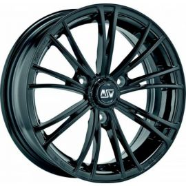 MSW X2 GLOSS BLACK Wheel 6,5x15 - 15 inch 3x112 bold circle - 7451