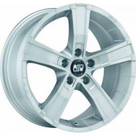 MSW SAHARA 5 FULL SILVER Wheel 8x18 - 18 inch 5x120 bold circle - 7980