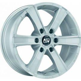 MSW SAHARA 6 FULL SILVER Wheel 8x18 - 18 inch 6x139,7 bold circle - 8007