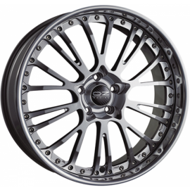 OZ BOTTICELLI III CRYSTAL TITANIUM Wheel 8.5x20 - 20 inch 5x - 10977